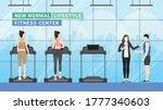 fitness center new normal... | Shutterstock .eps vector #1777340603