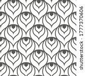 seamless decorative vector... | Shutterstock .eps vector #1777370606