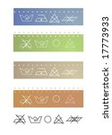clothes labels shows washing... | Shutterstock . vector #17773933