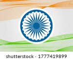 indian independence day concept ... | Shutterstock .eps vector #1777419899