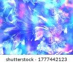 liquid marble texture. fluid... | Shutterstock .eps vector #1777442123