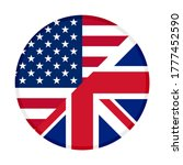 round icon with united states... | Shutterstock .eps vector #1777452590