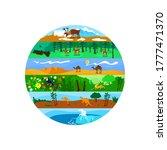 biodiversity 2d vector web...   Shutterstock .eps vector #1777471370