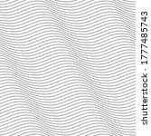 vector geometric texture.... | Shutterstock .eps vector #1777485743