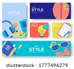 geek brochure flyer  magazines  ... | Shutterstock .eps vector #1777496279