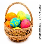 Colorful Handmade Easter Eggs...