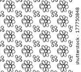 flower seamless pattern | Shutterstock . vector #177750848
