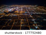 aerial view of las vegas by... | Shutterstock . vector #177752480