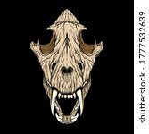 Tiger Skull Vector Illustration ...