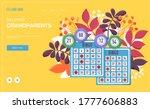 bingo concept flyer  web banner ...