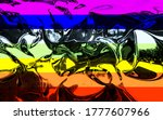 Peace Flag Background On...