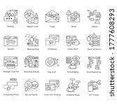 Hackers Icons Set. Safe Web...