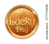 Lucky Golden Coin For St....