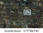 No. 124  Painted White On Wall