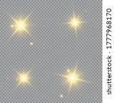 glow light effect. vector...   Shutterstock .eps vector #1777968170