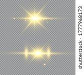 glow light effect. vector...   Shutterstock .eps vector #1777968173