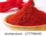 Detail Of Red Pepper Powder In...