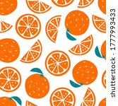 bright colorful oranges vector... | Shutterstock .eps vector #1777993433