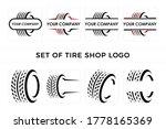 set of tire shop logo vector   Shutterstock .eps vector #1778165369