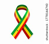 Senegalese Flag Stripe Ribbon...