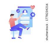 new user must create account...   Shutterstock .eps vector #1778234216
