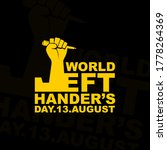 Typography For World Lefthande...