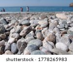 Beach Of Pebbles  Selective...