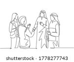 one continuous line drawing of... | Shutterstock .eps vector #1778277743