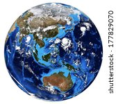 photorealistic earth. elements... | Shutterstock . vector #177829070