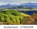 Colourful Mountains Of Colorad...