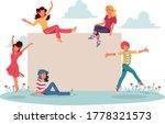 template for advertising... | Shutterstock .eps vector #1778321573