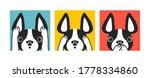 cute cartoon french bulldog....   Shutterstock .eps vector #1778334860