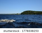 Small Waves In Blue Ladoga Lak...