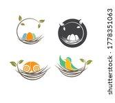 Nest Icon Vector Illustration...