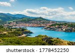 Panorama Of Port Vendres On A...