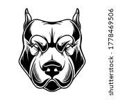 illustration of head of pit... | Shutterstock .eps vector #1778469506