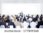 large business presentation | Shutterstock . vector #177849368