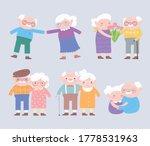 happy grandparents day  cute...   Shutterstock .eps vector #1778531963