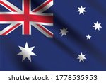 waving flag of australia. flag... | Shutterstock .eps vector #1778535953