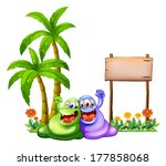 illustration of the two... | Shutterstock . vector #177858068