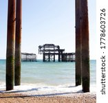 Brighton West Pier Shot From I...