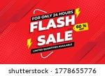 flash sale banner this weekend...   Shutterstock .eps vector #1778655776