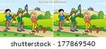 easter   find 10 differences | Shutterstock . vector #177869540