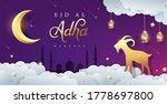 eid al adha mubarak the... | Shutterstock .eps vector #1778697800
