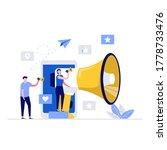 internet promotion vector...   Shutterstock .eps vector #1778733476