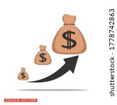 pockets with dollar signs. cash.... | Shutterstock .eps vector #1778742863