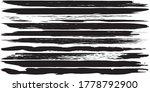 grunge vector brush. abstract... | Shutterstock .eps vector #1778792900