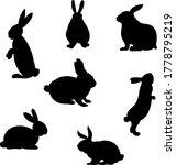 set of hand drawn running ...   Shutterstock .eps vector #1778795219
