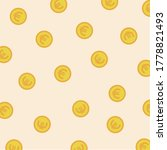 Money Pattern Vector. Coin Icon