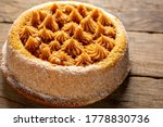 Churros Cake With Dulce De...